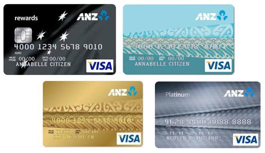 Phí rút tiền mặt thẻ tín dụng ANZ