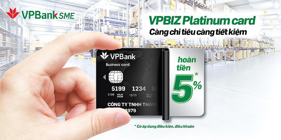 Thẻ tín dụng doanh nghiệp của VPBank